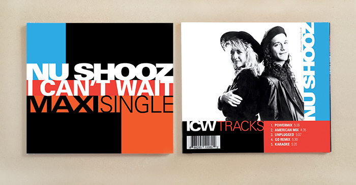 Nu Shooz I Can't Wait CD front and back