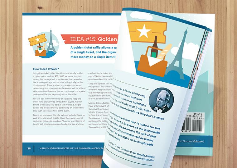 Revenue Enhancers Lookbook Inside pages example