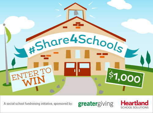 #Share4Schools promotional card